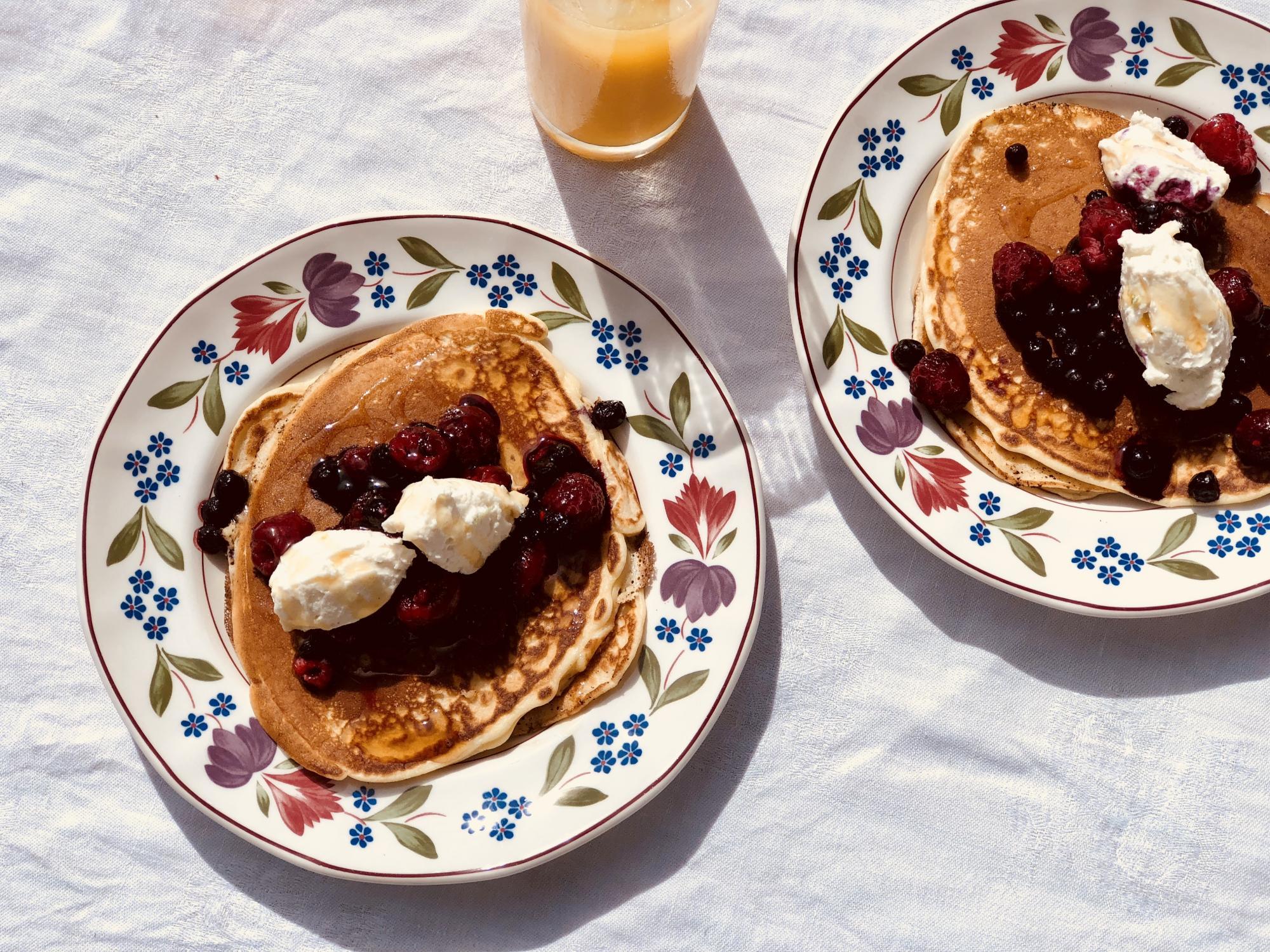 Recept | Ricotta & mascarpone pannkakor