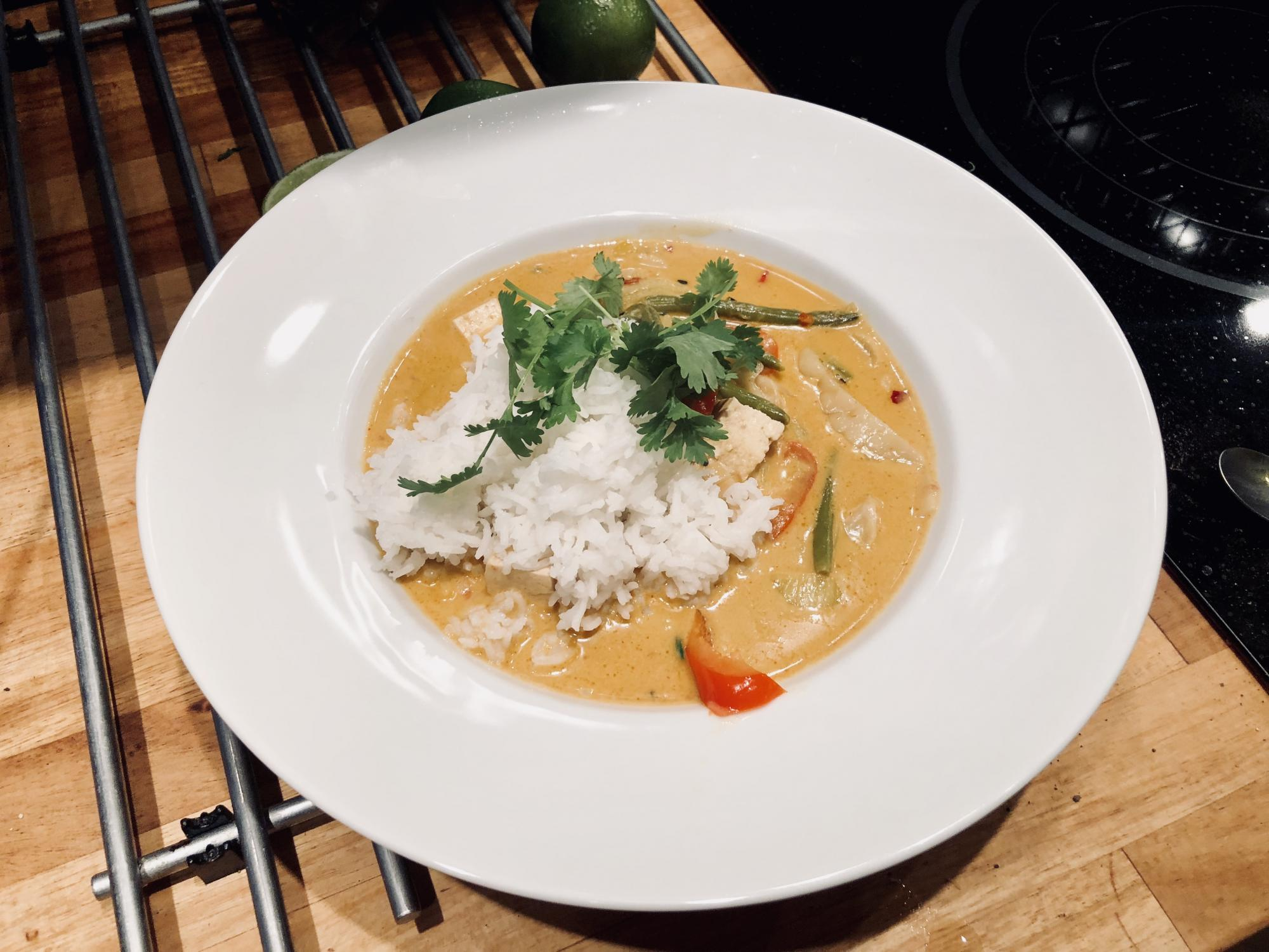 Recept | Vegansk Red Thai Curry