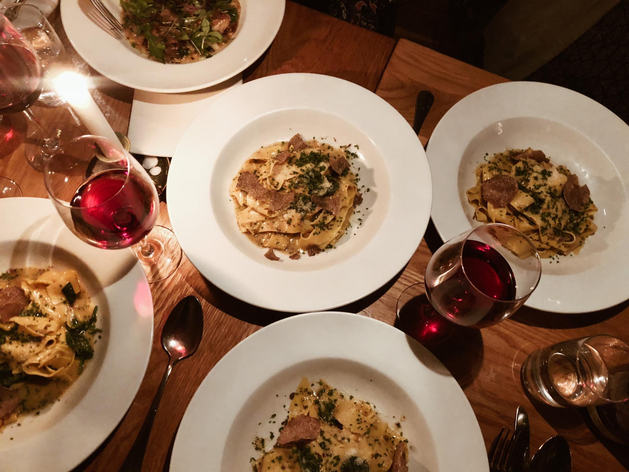Restaurangrecension   Tryffelveckor på Aubergine