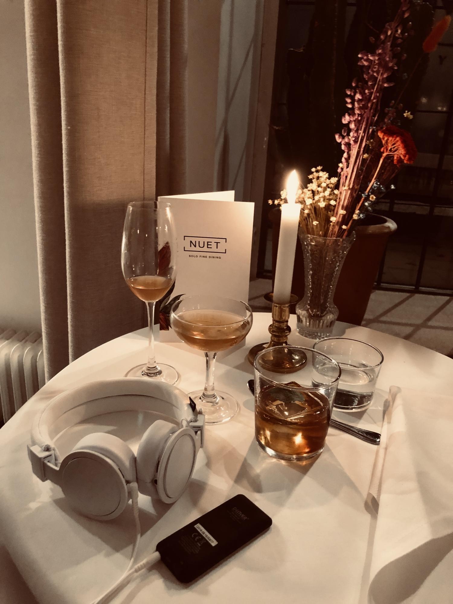 Solo-dining med Garba och Zacapa - vågar du äta middag ensam?