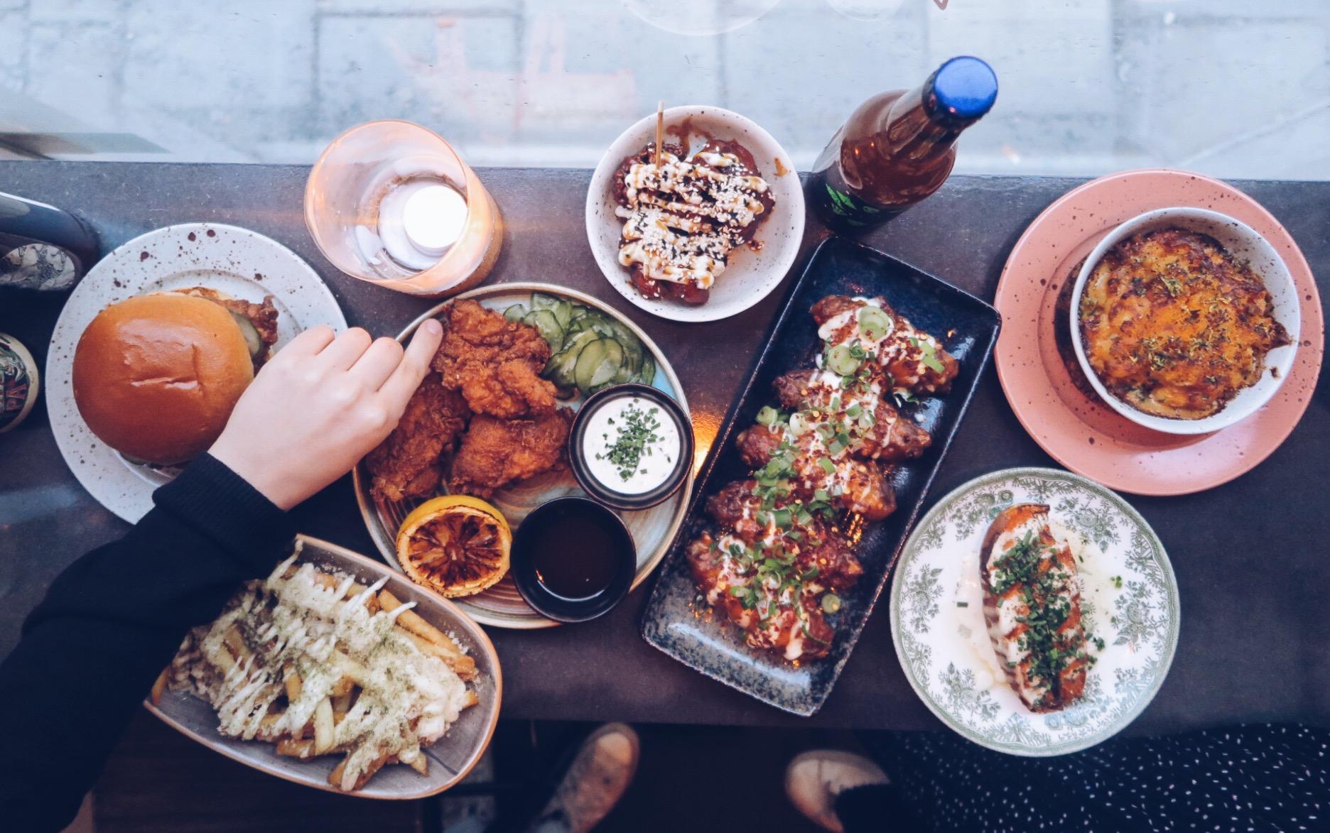 friterad kyckling restaurang stockholm