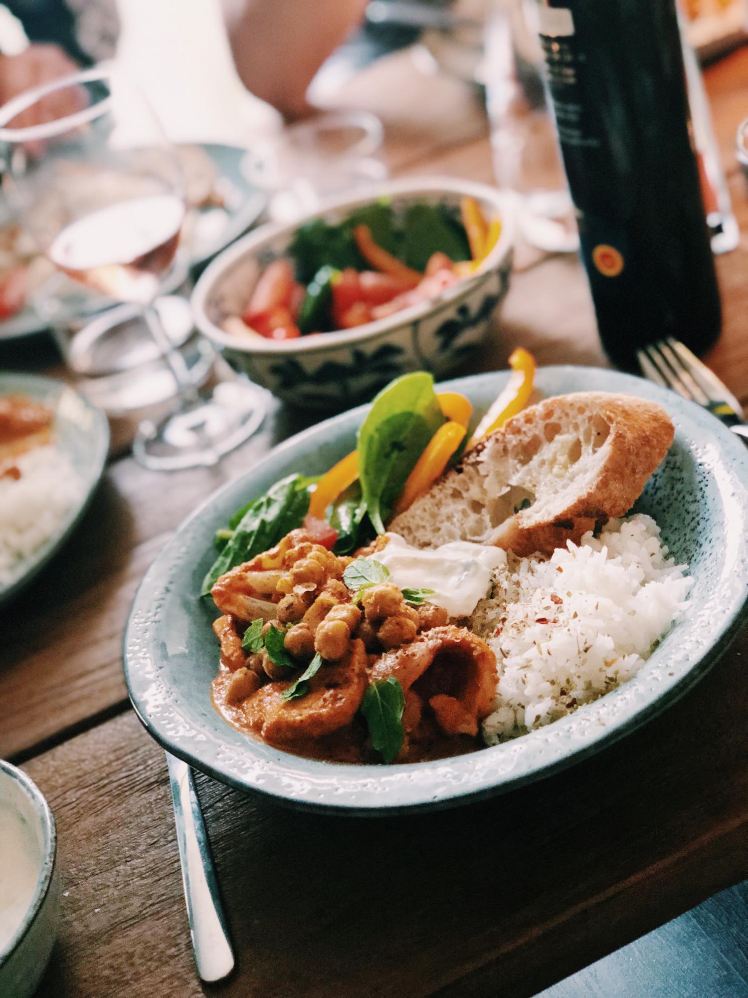 vegetarisk tikka masala