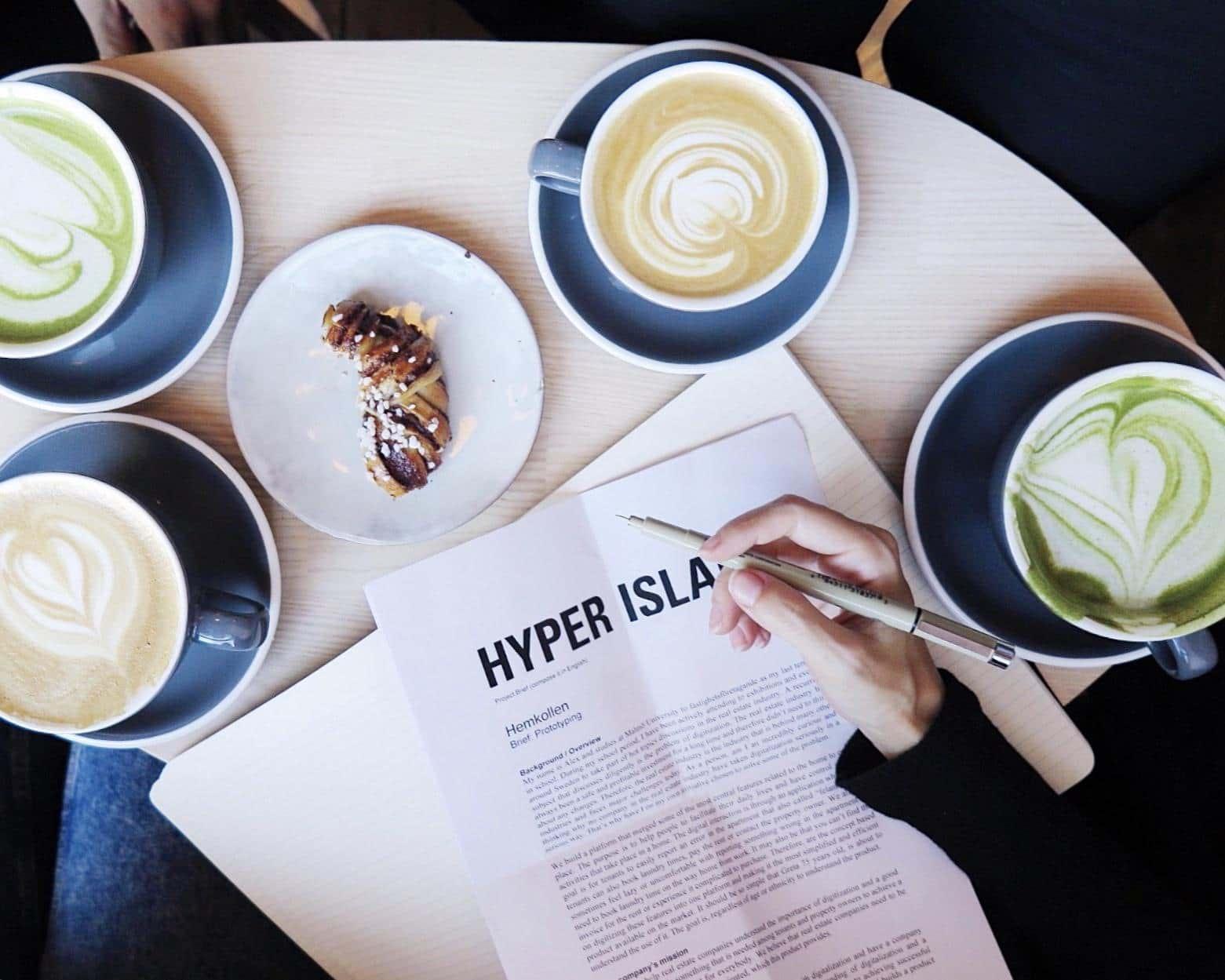 Guide till Stockholms bästa pluggkaféer!