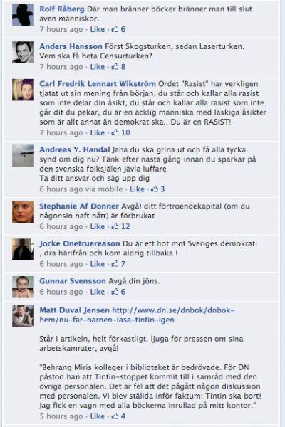 Otrogna svenskar kallar sig svensson