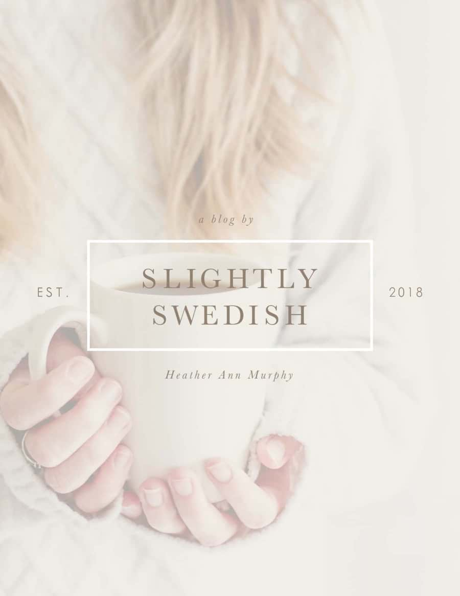 Slightly Swedish
