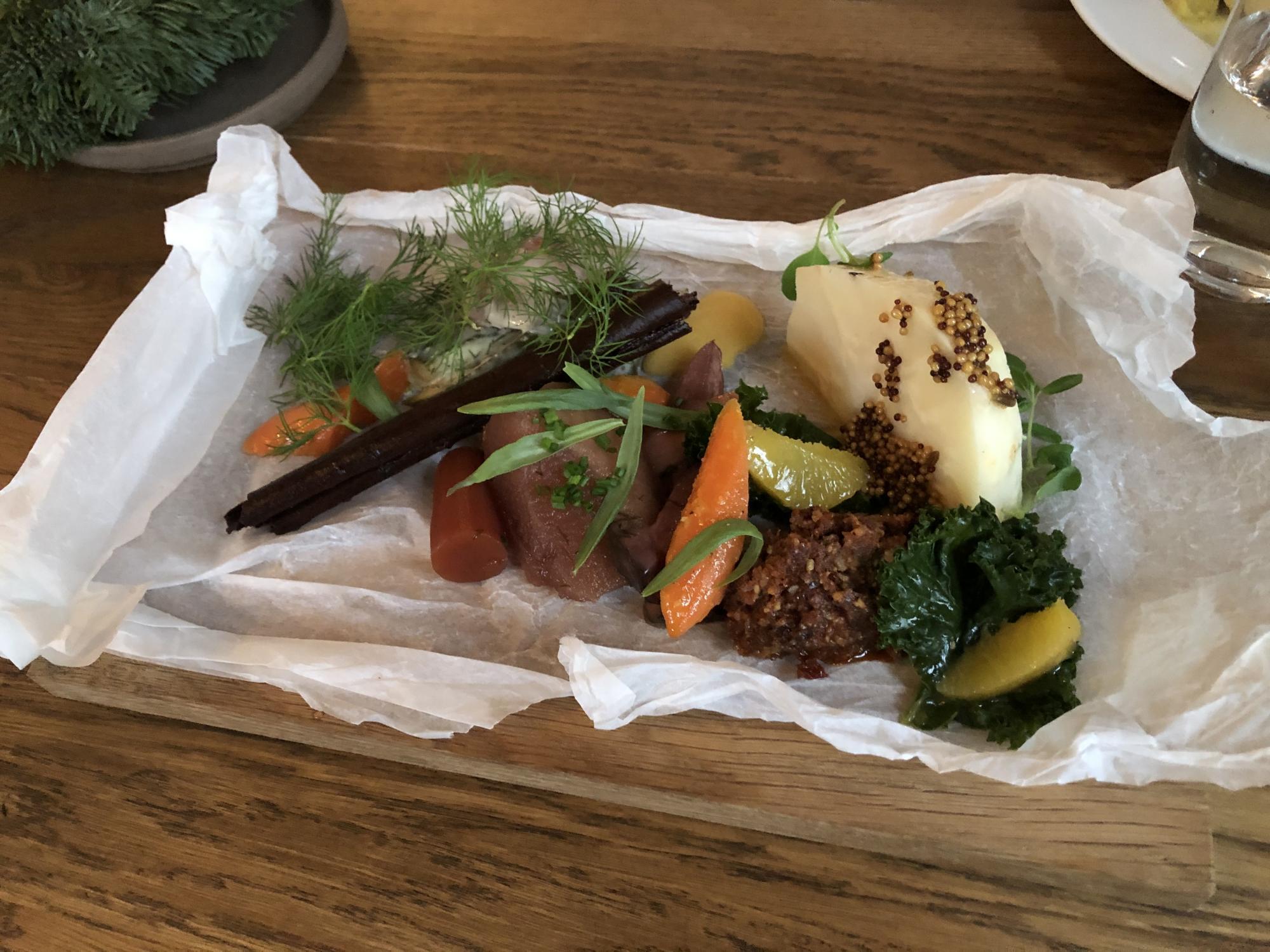 Grönkål med apelsin- och Sichuanpeppar