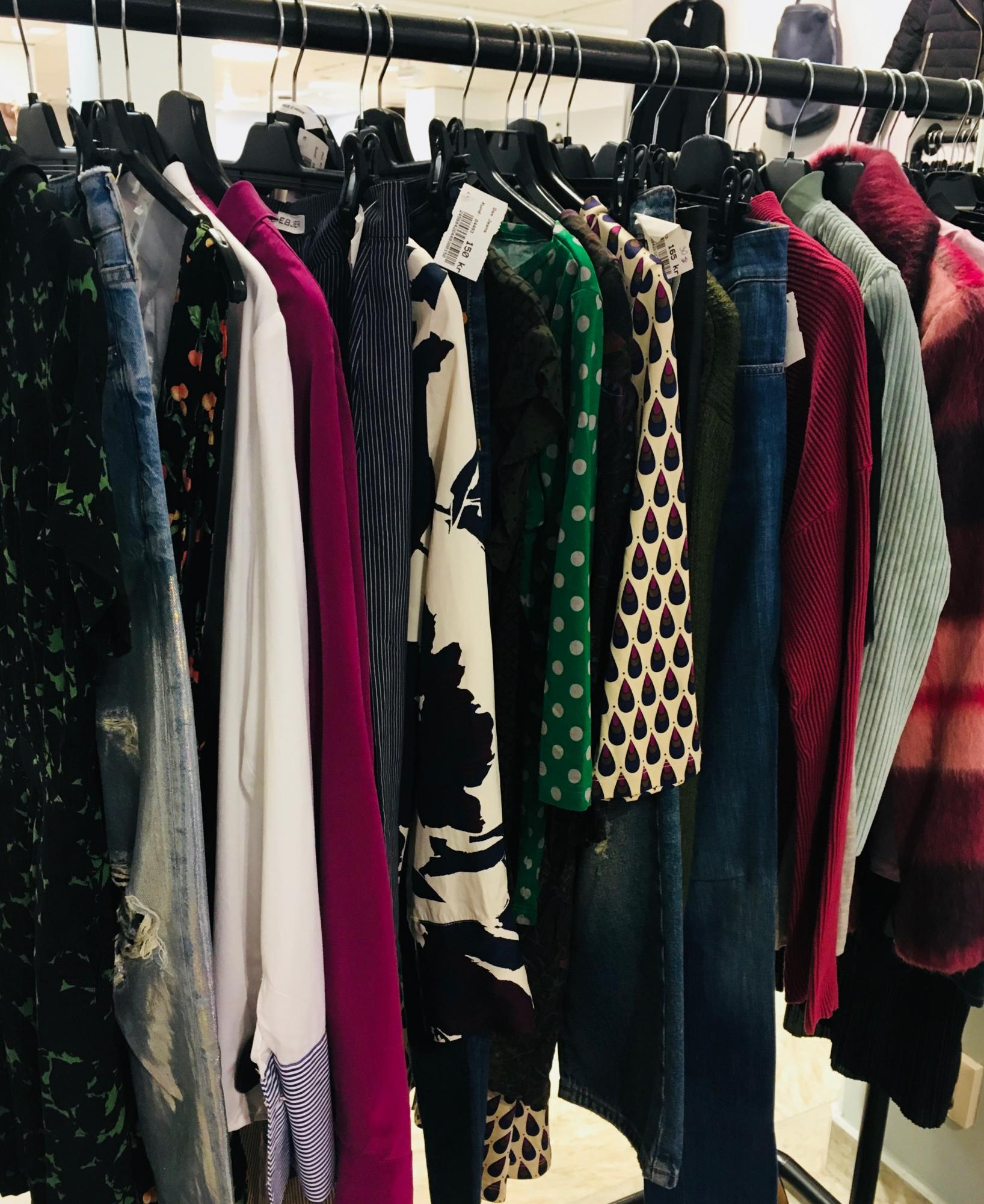Stockholm's second-hand clothes shops: treasure hunting for grown-ups