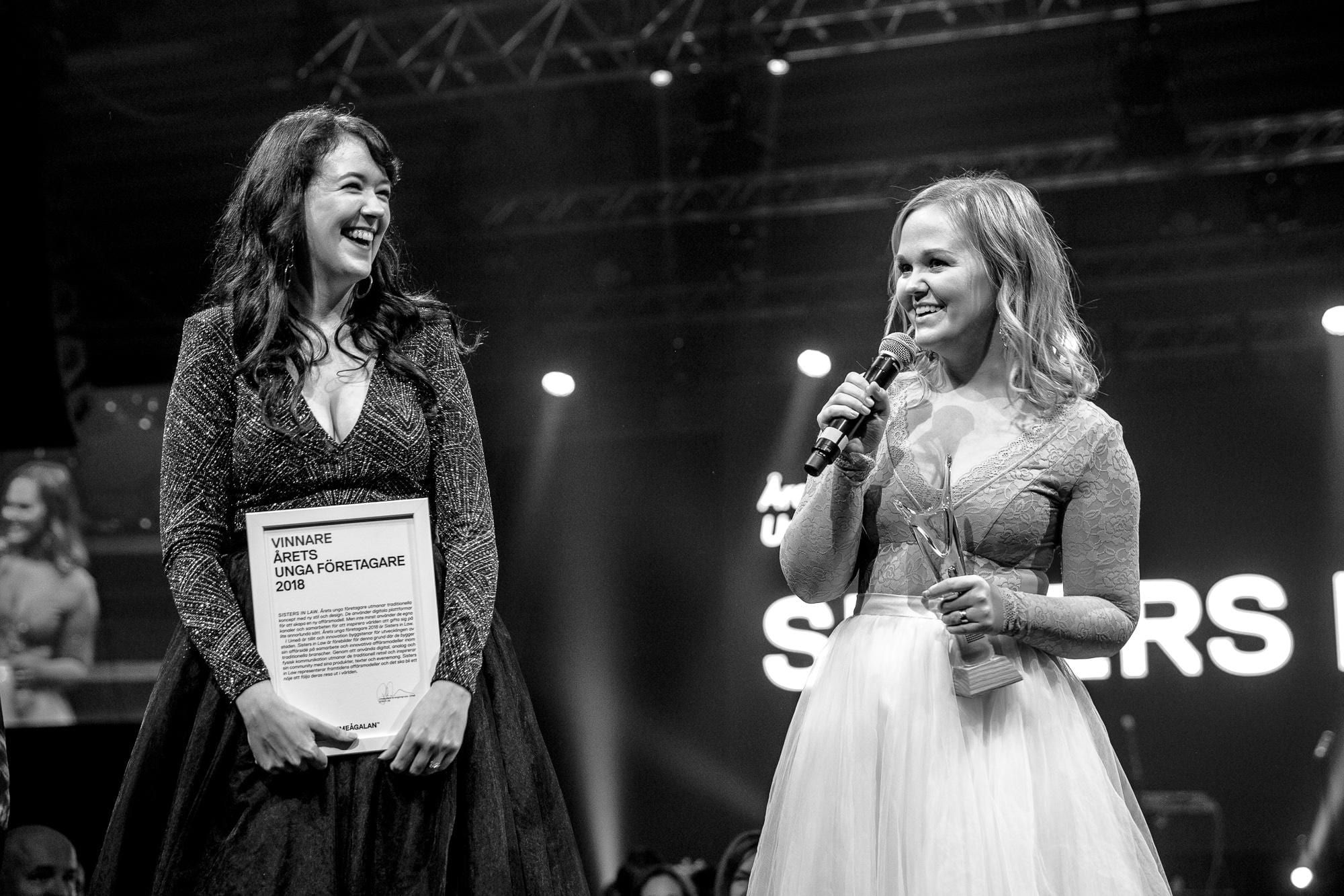 Vi vann priset som Årets Unga Företagare!