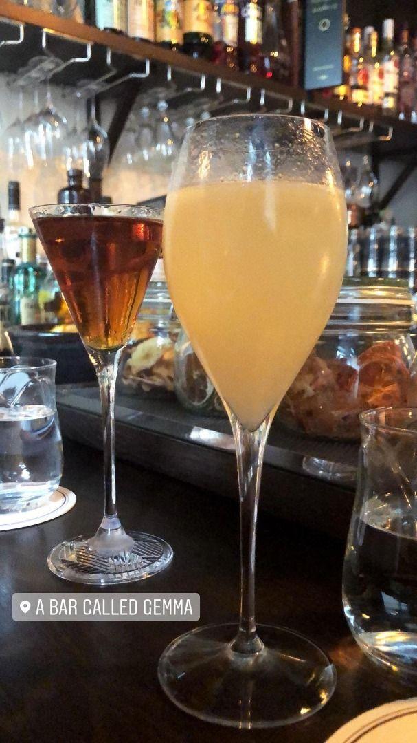 Övriga drinkar – Bild från A Bar Called Gemma av These S.