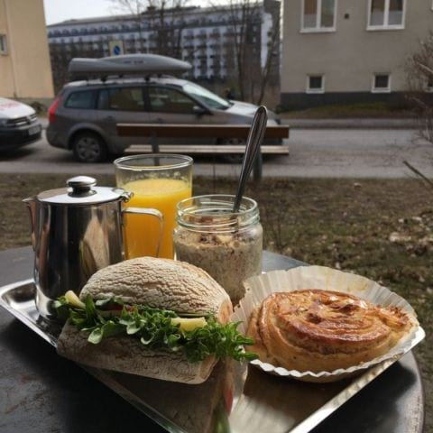 Photo from A.B.Café by Therese B.