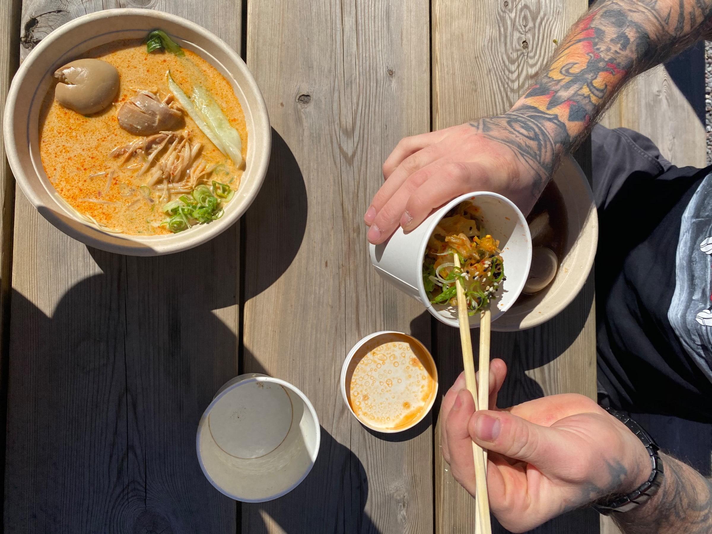 Kimchi – Photo from Ai Ramen Södermalm by Agnes L.