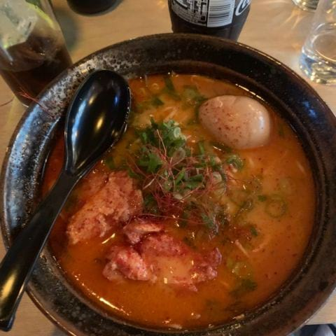 Spicy miso – Bild från Ai Ramen Klara av Veronica F.
