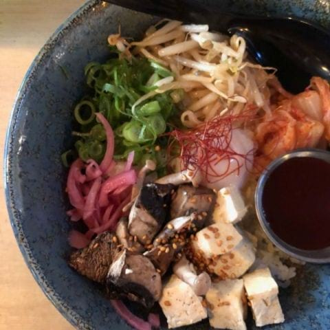Donburi med tofu – Photo from Ai Ramen Klara by Agnes L.