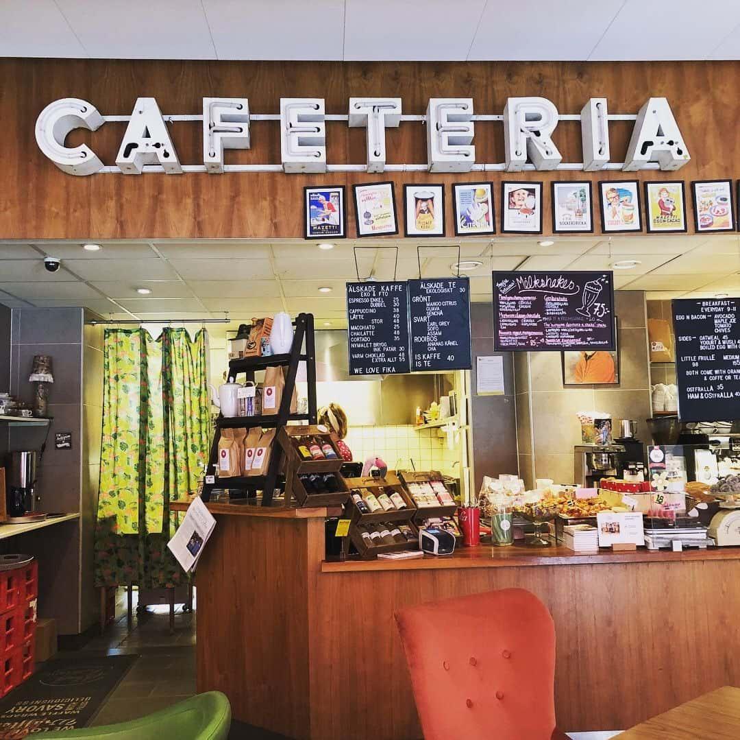 Snyggt café – Bild från Älskade Traditioner av Elin L.