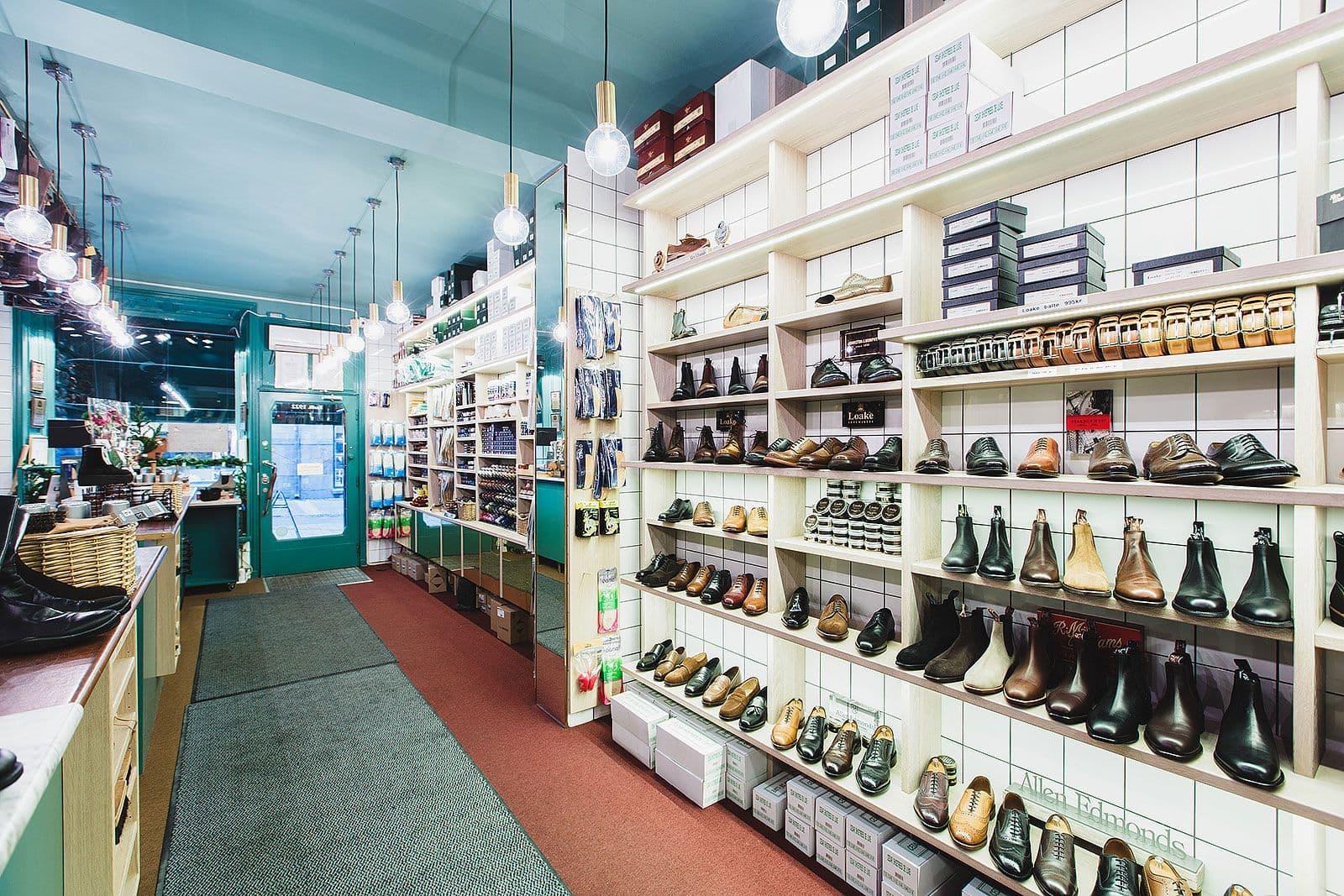 bra skoaffärer i stockholm
