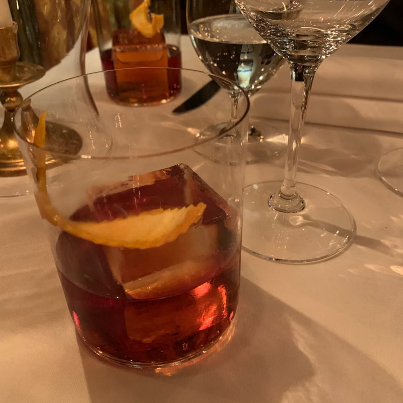 Negroni – Photo from Bakfickan Djuret by Alexandra L.