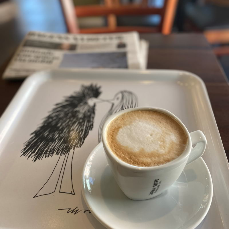 Cappuccino – Photo from Bageri Kardemumma by Madiha S.