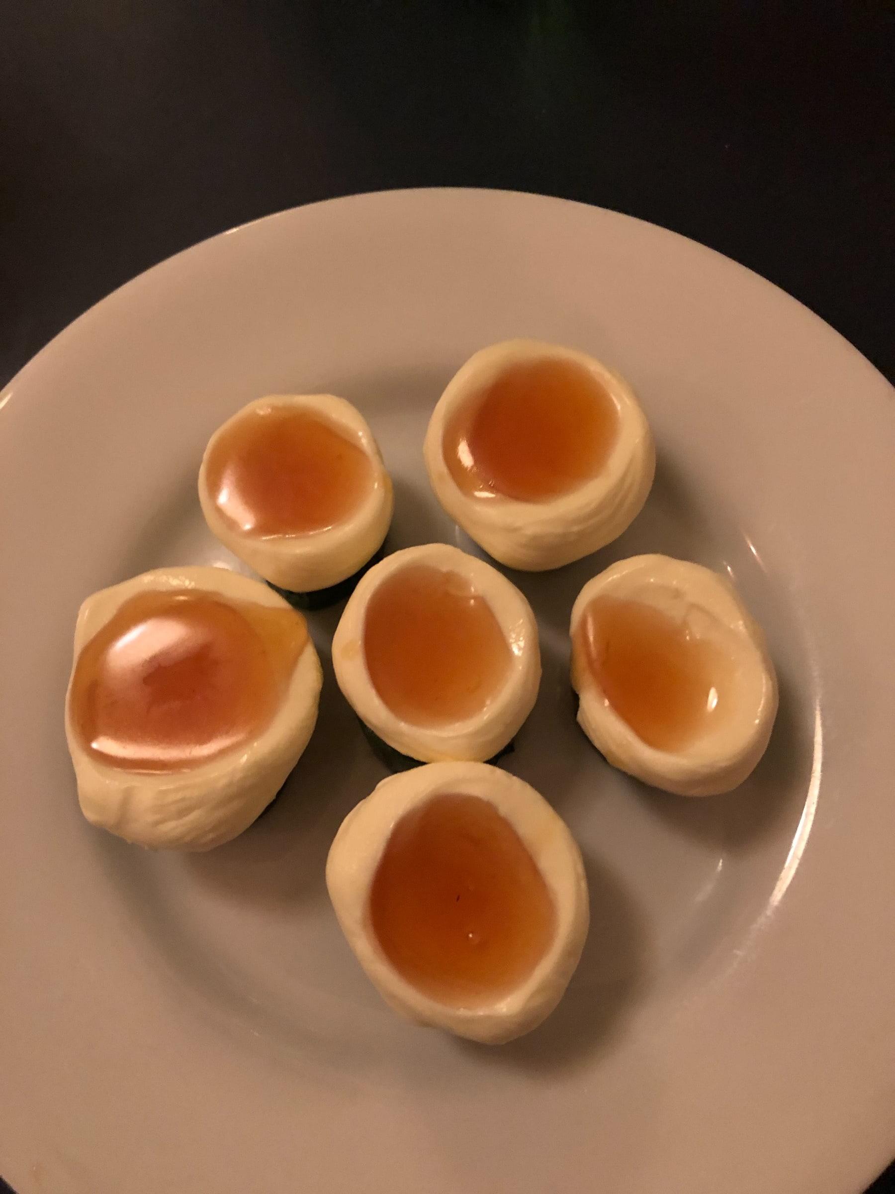 Saltgurka, smetana och honung – Bild från Bar Agrikultur av David F.