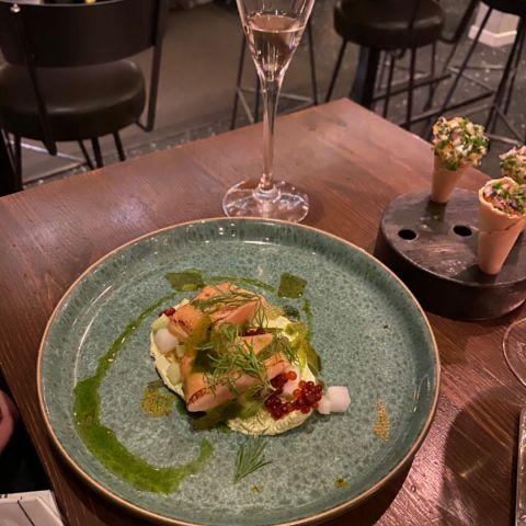 Rökt sik – Bild från Barrique Restaurant & Wine Bar av Ingela P.