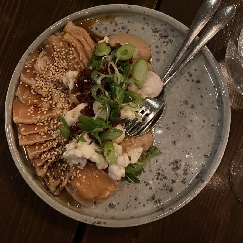 Sashimi – Bild från Barrique Restaurant & Wine Bar av Erica E.