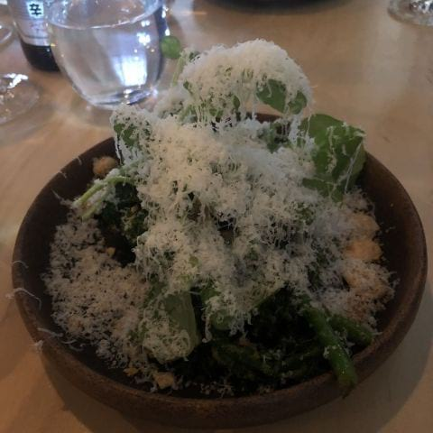 Broccolini med ost och mandel – Photo from Barbro by Sophie E.