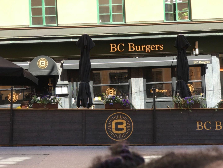Bild från BC Burgers av Maria N.
