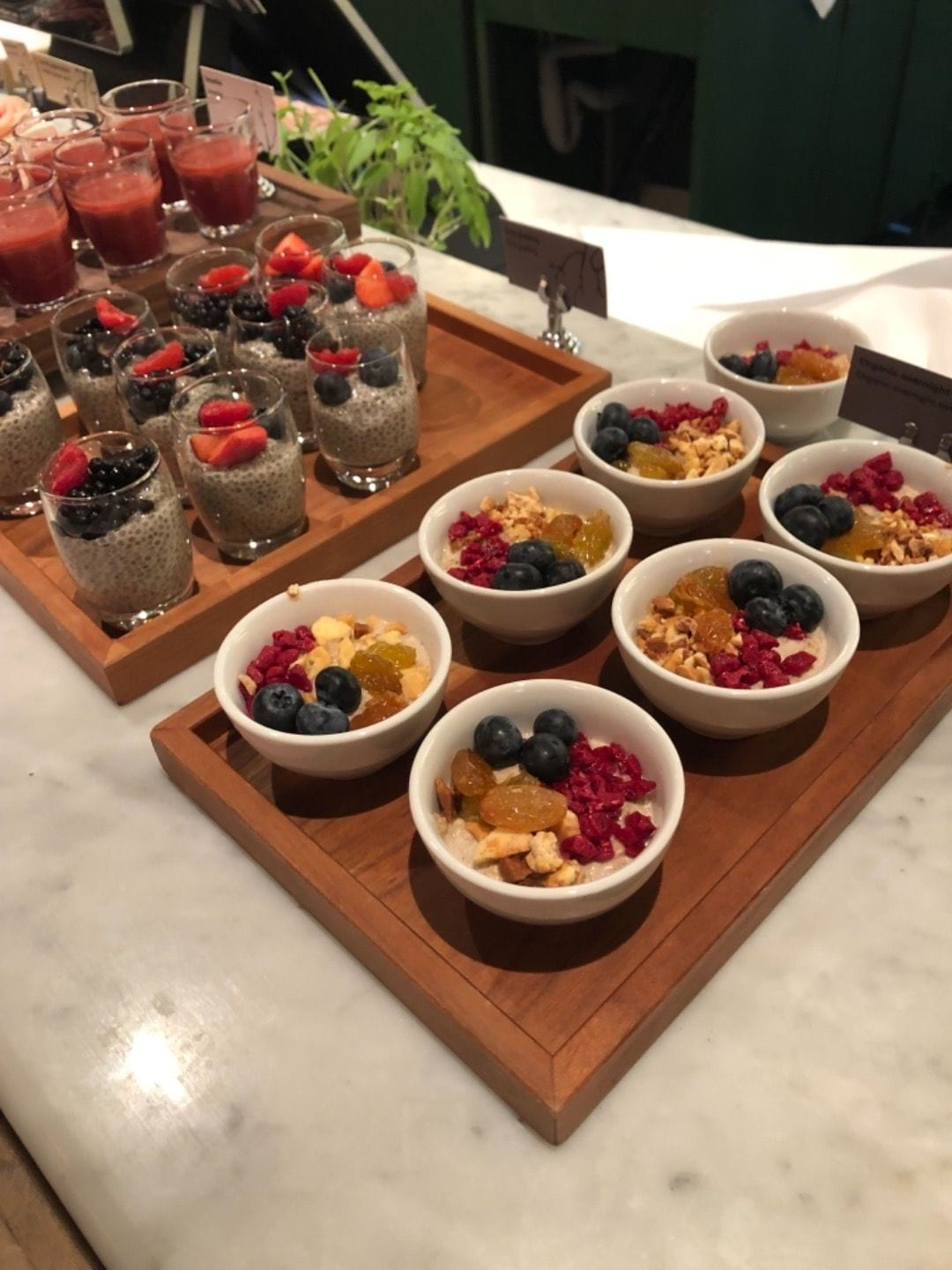 Overnight oats – Photo from Berns by Agnes L.