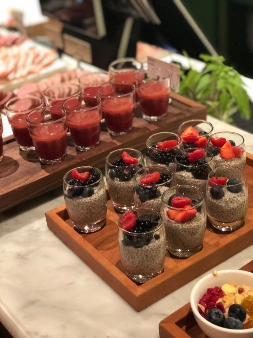 Chiapudding och smoothie – Photo from Berns by Agnes L.