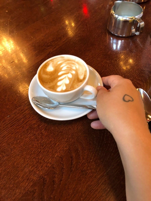 Cappuccino, bra! – Bild från Berns av Agnes L.