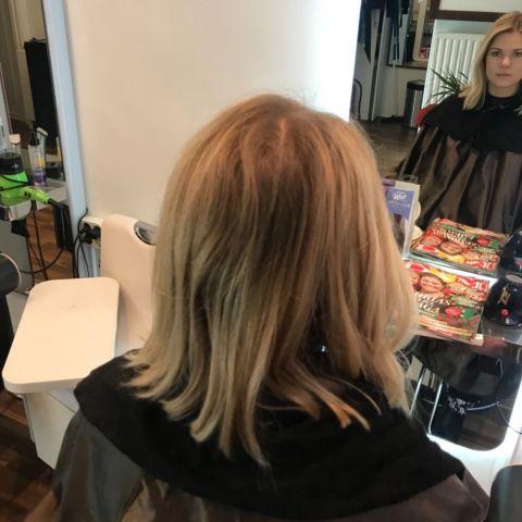 Före – Bild från Bebas Hair & Beauty av Rebecka E.