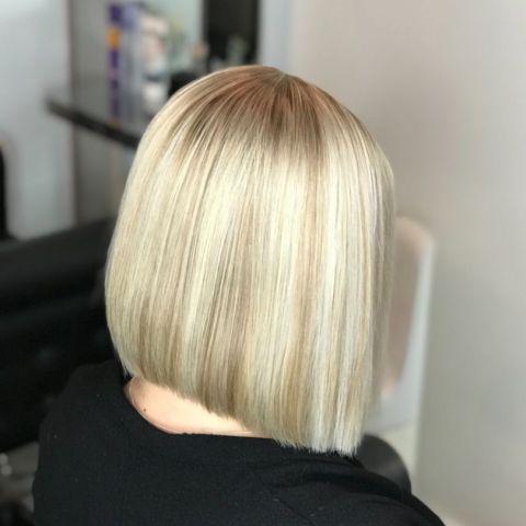 Efter 🤩 – Bild från Bebas Hair & Beauty av Rebecka E.