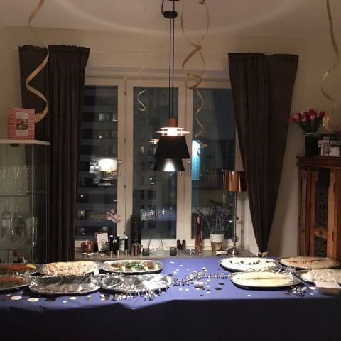 Catering till födelsedagasevent – Photo from Beirut Bistro by Anna B.
