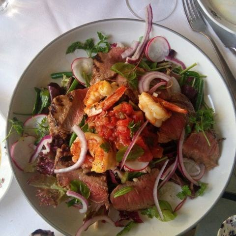 Surf n turf sallad – Photo from Bino by Katarina D.