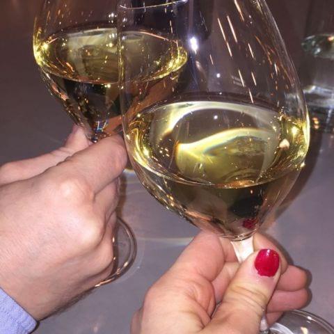 Allt från naturviner, till årgångs champagne finns hos Morgan i bistron – Bild från Bistro Liljeholmen Ica Kvantum av Katrine L.