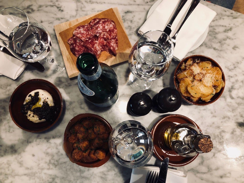Smårätter – Bild från Bianchi Café & Cycles av Linn W.