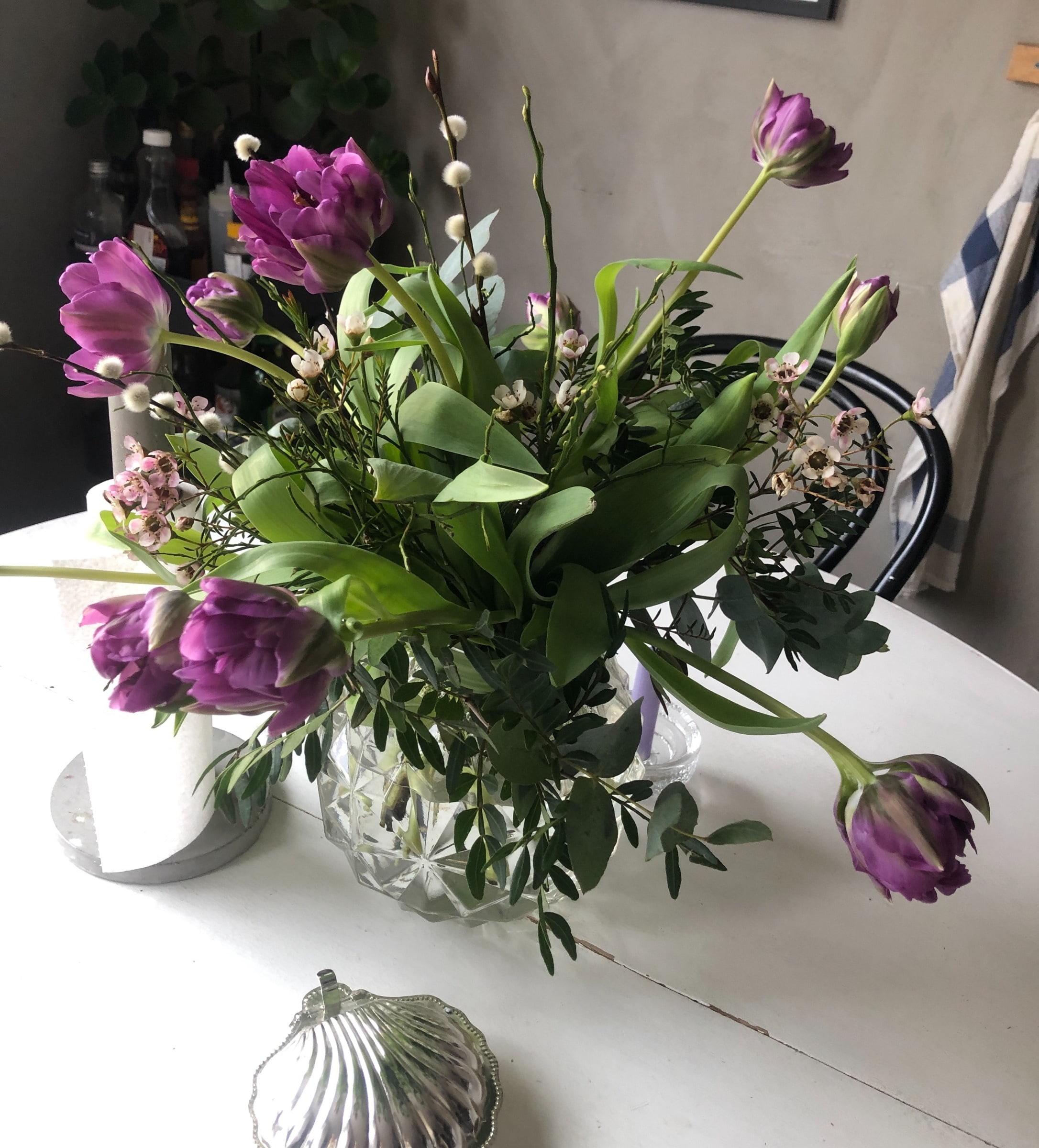Bild från Blomsterpassagen Solna av Ida B.