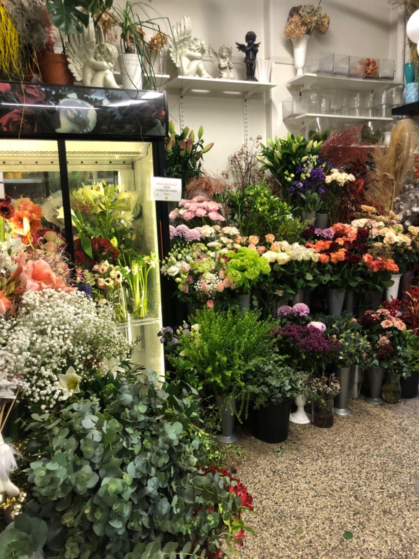 Bild från Blomsterateljén MKF av Ida B.