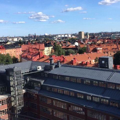 Utsikt från takterrassen – Bild från Blique by Nobis av Katrine L.