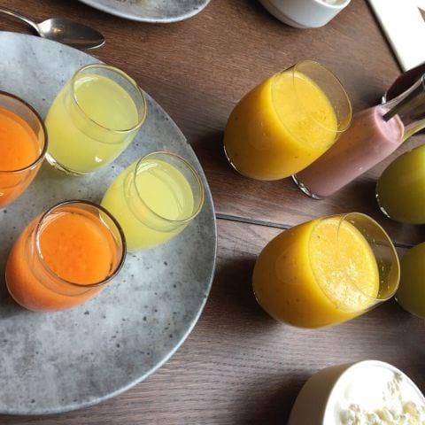 """Den """"flytande"""" delen av frukosten – Bild från Blique by Nobis av Katrine L."""