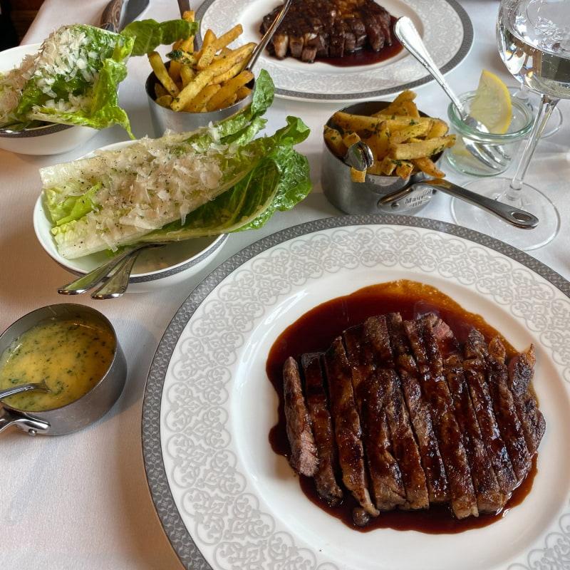 Bästa steak frites jag ätit? – Bild från Bobergs Matsal av Adam L.