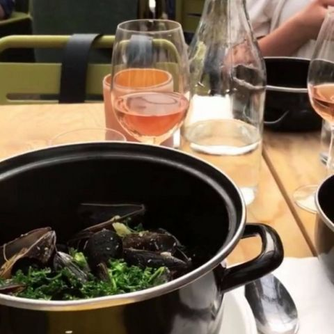 Moules mariniere – Photo from Boulebar Rålambshov by These S.