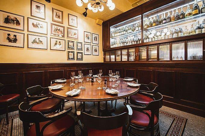 Chambre Separée · Brasserie Balzac