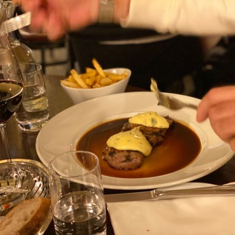 Steak minute – Photo from Brasserie Balzac by Annelie V.