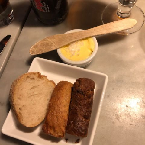Bröd med smör! – Photo from Brasserie Elverket by David F.