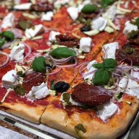 Pizza – Bild från Bröd & Salt Hammarby Sjöstad av Agnes L.