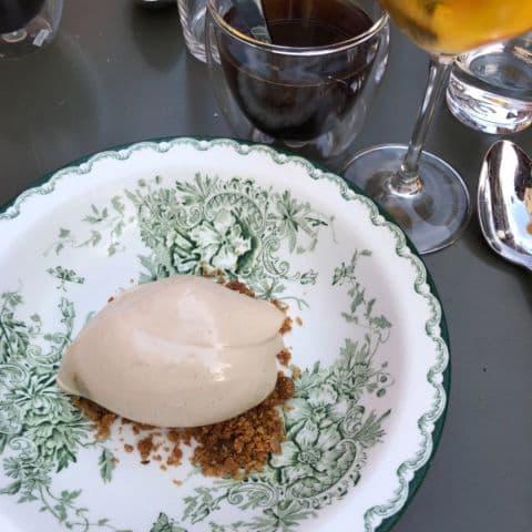Kaffeglass – Bild från Brasserie La Colline av Fredrik J.