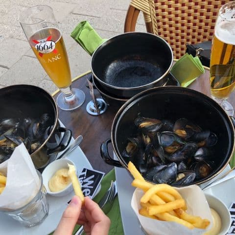 Moules Frites – Photo from Brasserie Elverket by Linn W.