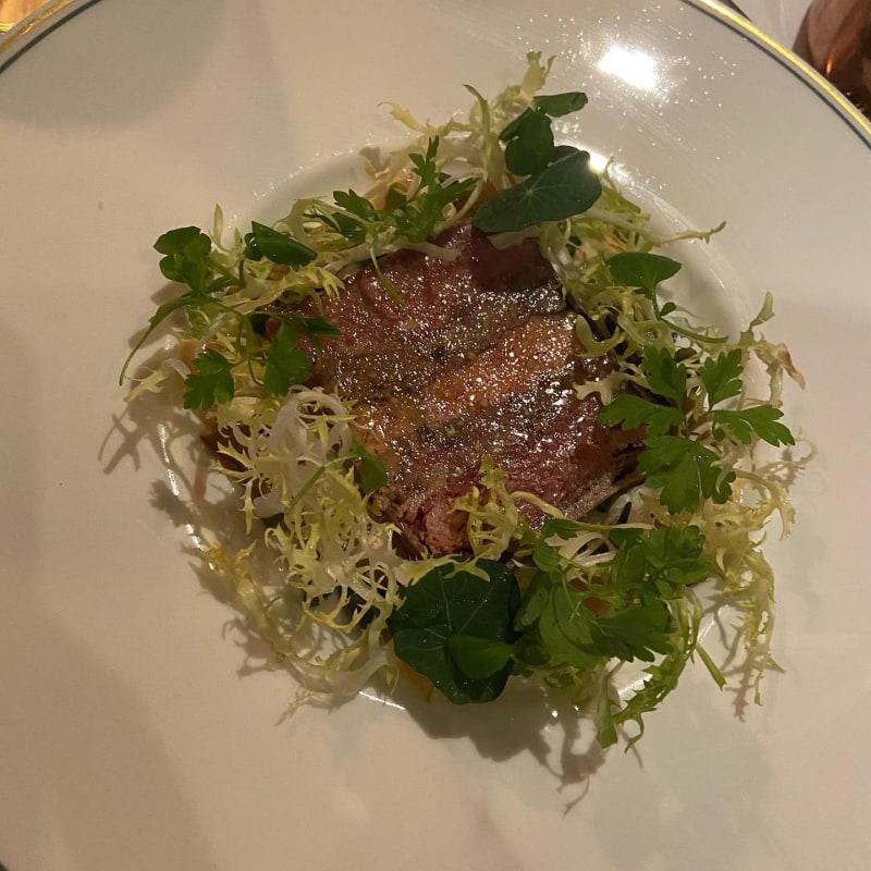 Pressad terrin – Bild från Brasserie Astoria av Saga S.