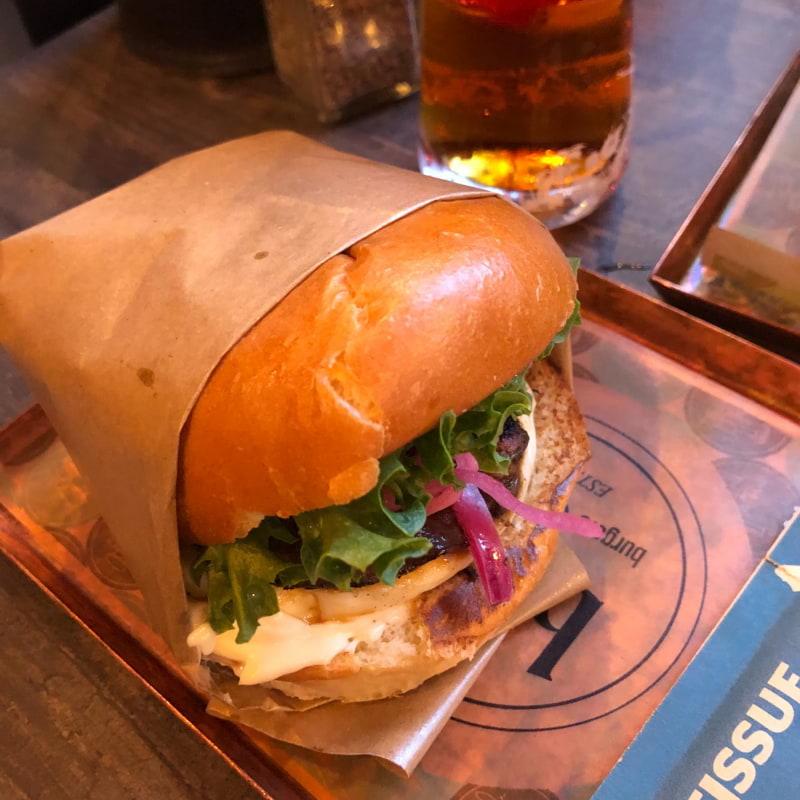 Portalloumi – Bild från Burgers & Pastrami BAP av Louise F.