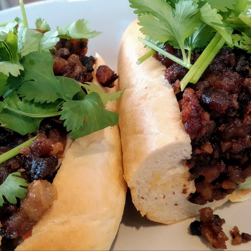 Banh mi- brässerad fläsksida – Photo from Bun Bun by Katarina D.